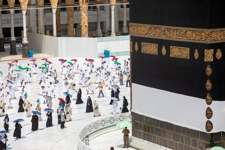 Virus measures, slashed numbers make for safest ever haj