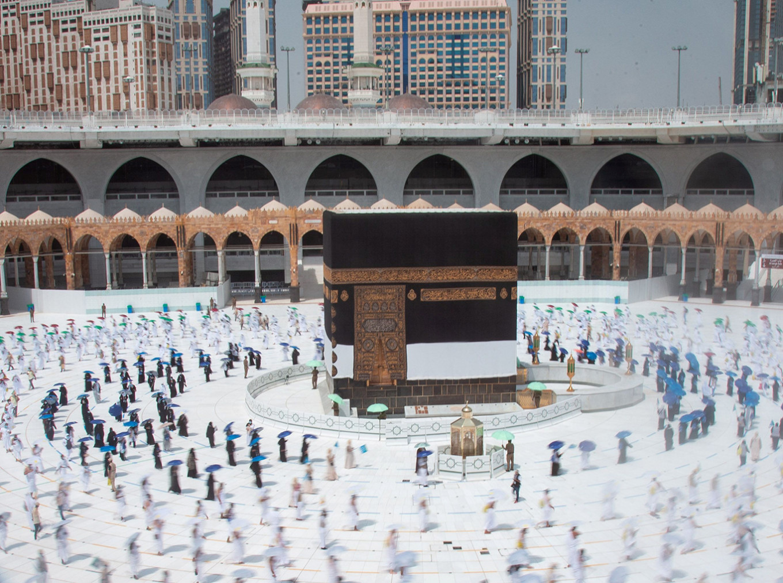 Saudis strive to prevent virus outbreak in curtailed haj