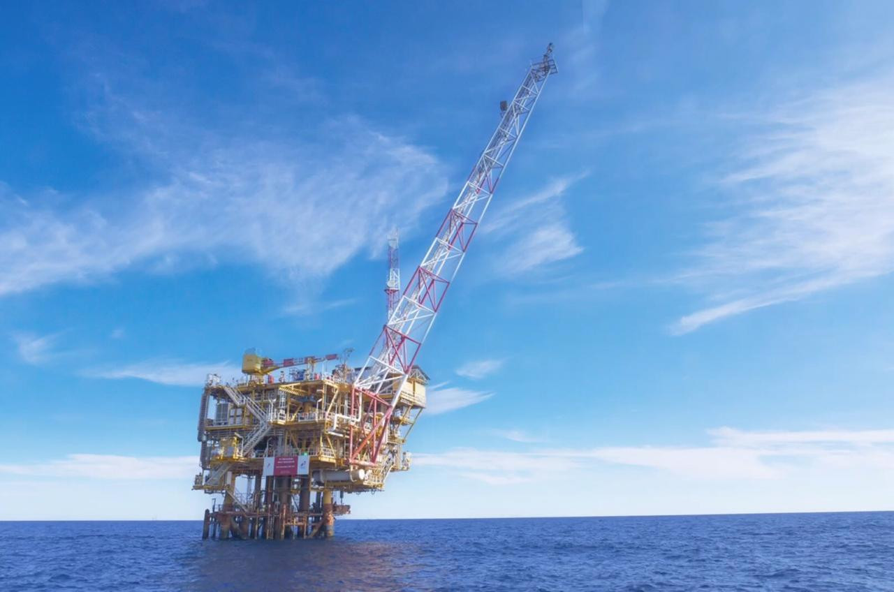 Pertamina begins construction of three oil, gas rigs atop Mahakam Block