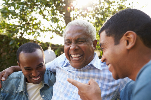 People who laugh more may be better at dealing with stress
