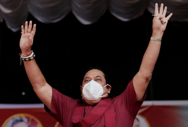 Sri Lanka's Rajapaksas hope to tighten grip on power in election