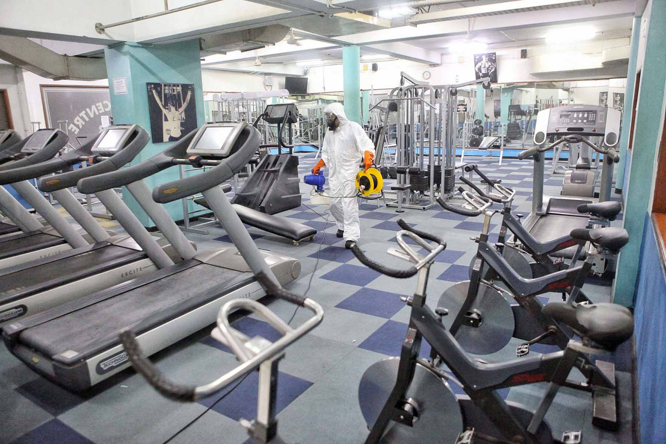 Gyms may reopen under transitional PSBB, Anies says