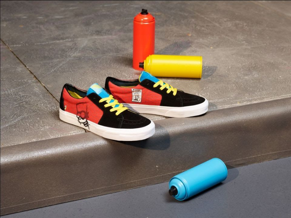 D'oh! The Simpsons are in style with Vans