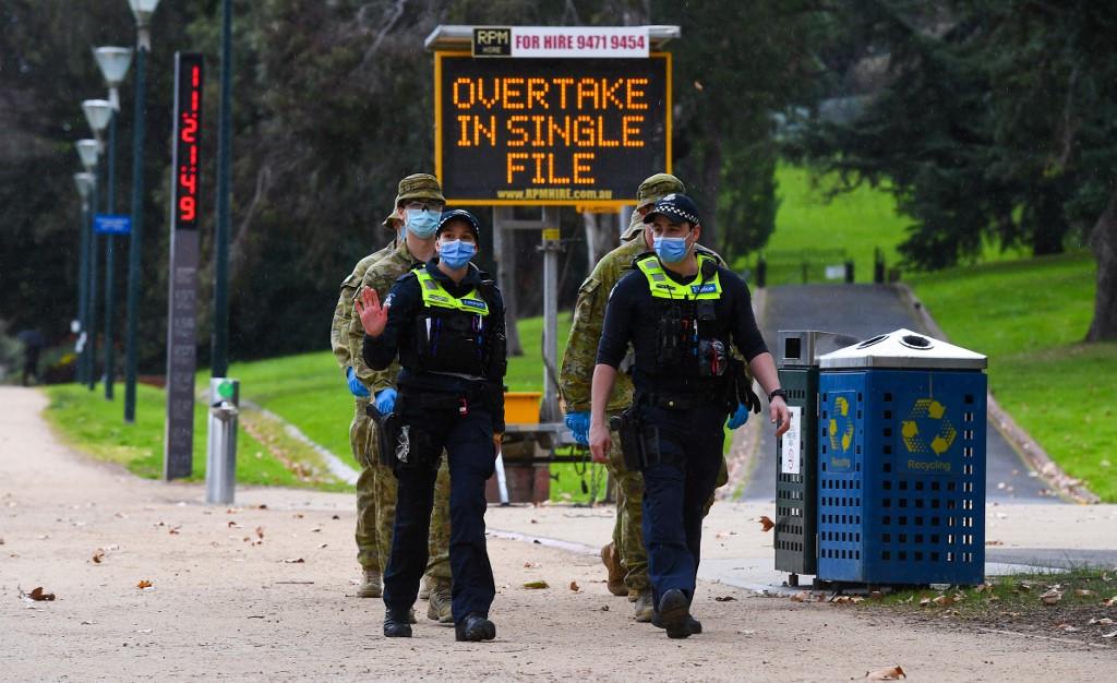 Australia's COVID-19 epicenter extends hard lockdown till late September