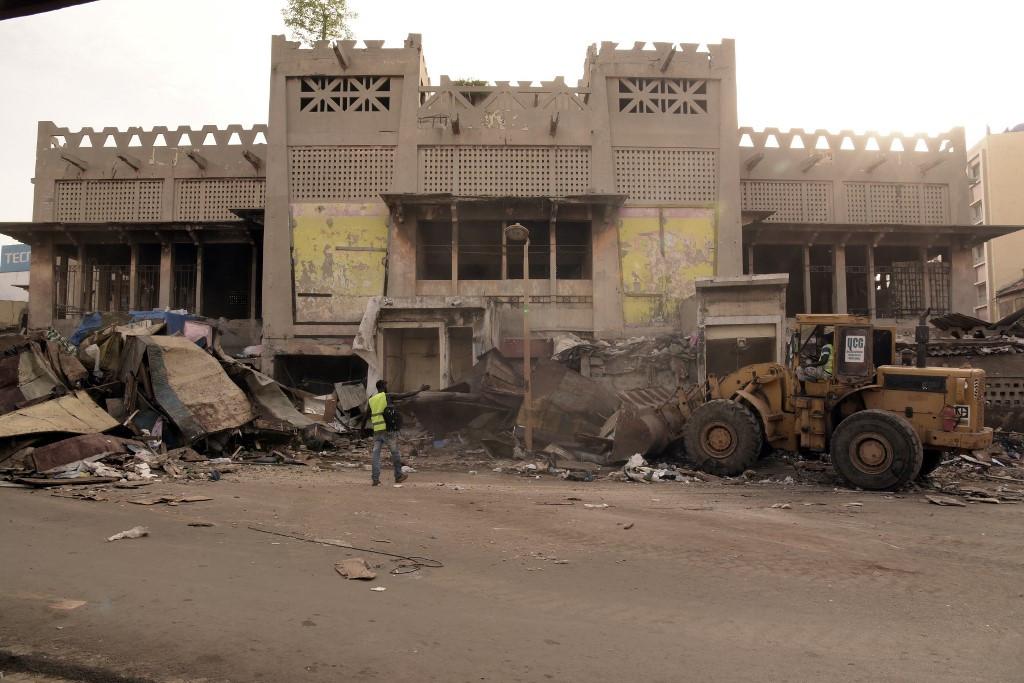 Excavation begins at historic Dakar market in renovation project