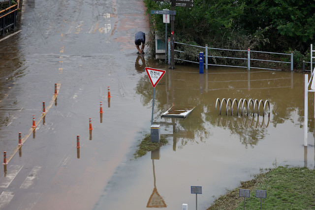 Heavy rains in S. Korea displace more than 1,000 people, 13 dead