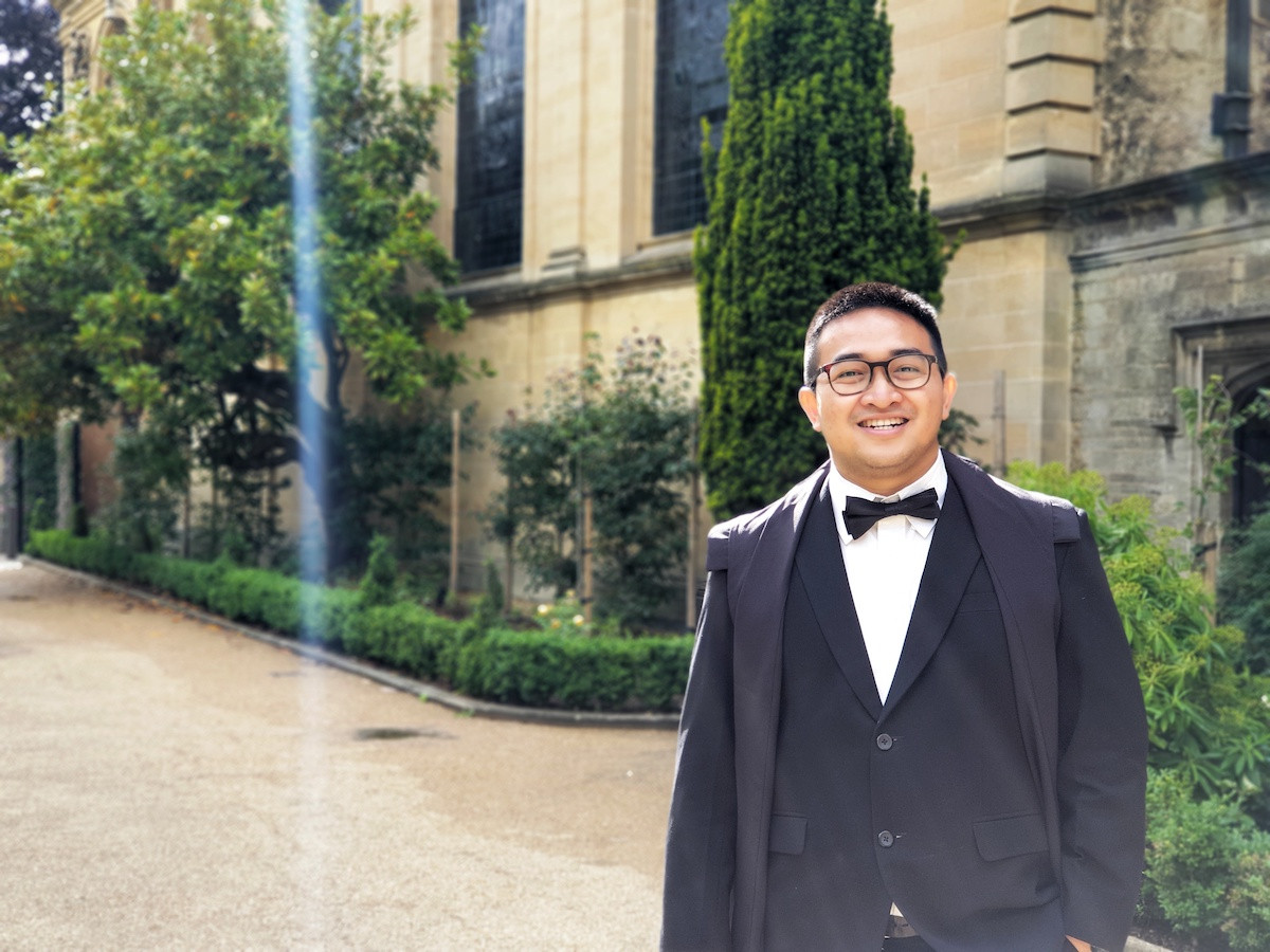 Meet the Indonesian student on Oxford's COVID-19 vaccine team