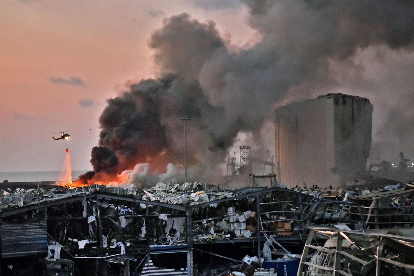 Ammonium nitrate: Fertilizer behind many industrial accidents