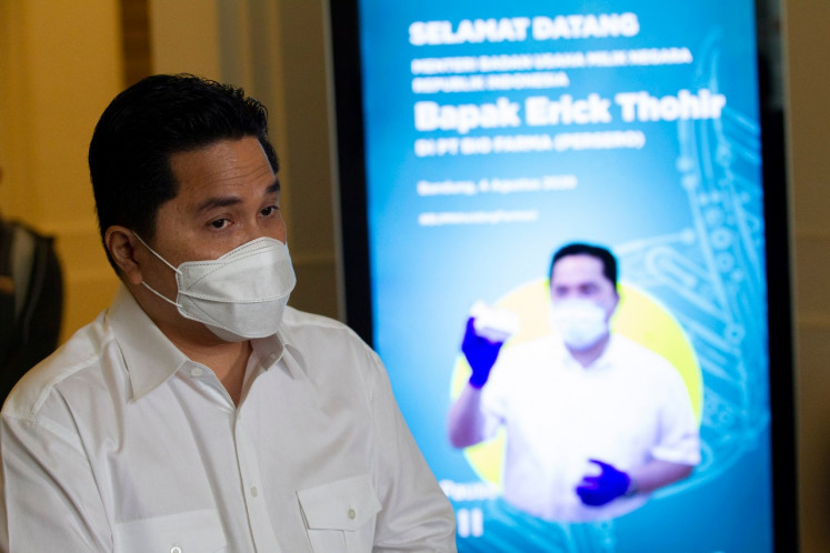 Bio Farma ready to produce 250 million doses of COVID-19 vaccine by year's end: Minister Erick