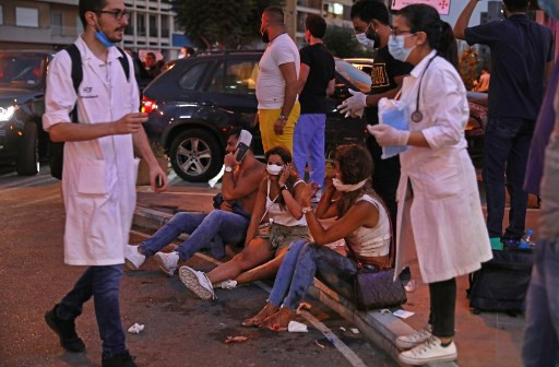 'Armageddon' at Beirut hospitals after blast hurt medics, patients alike