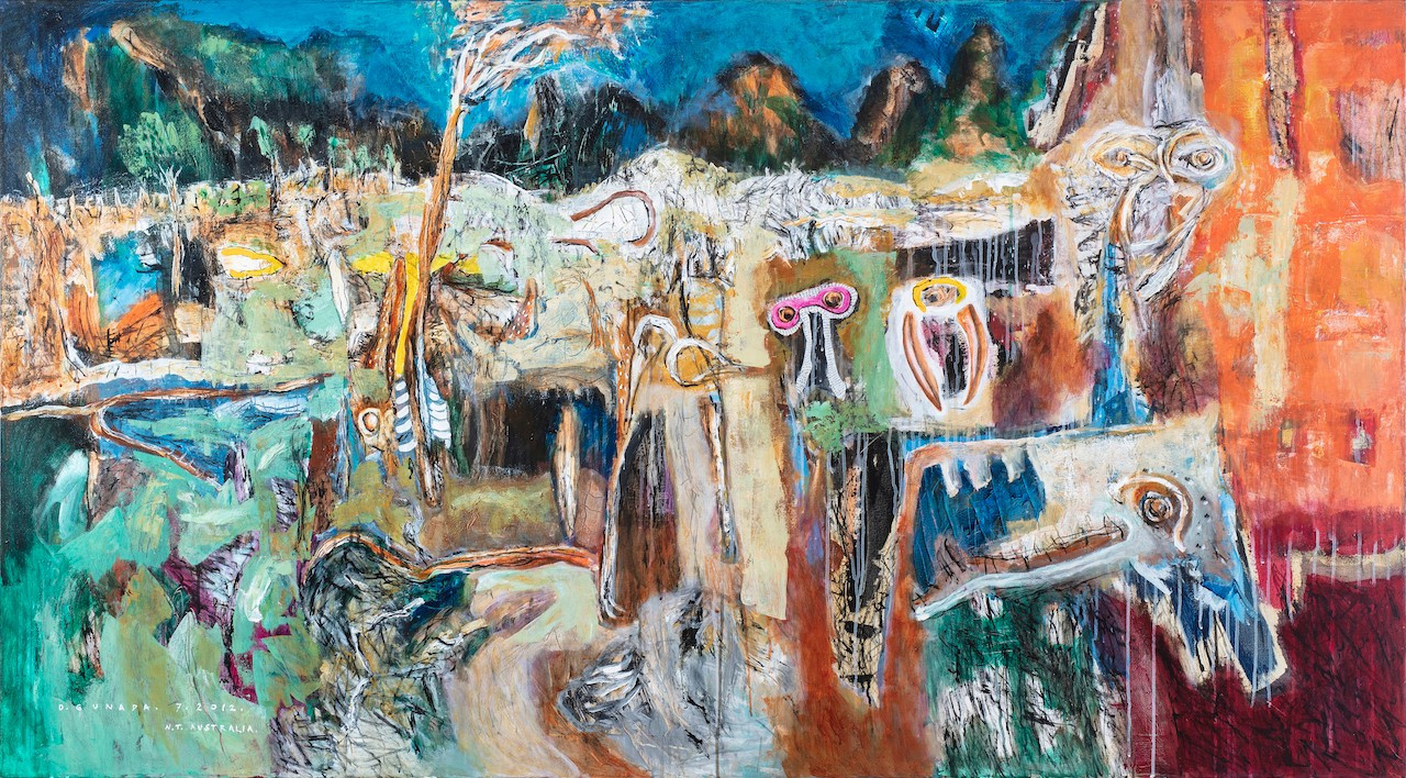 'Inspiration from Timber Creek' (2012) by Gede Gunada