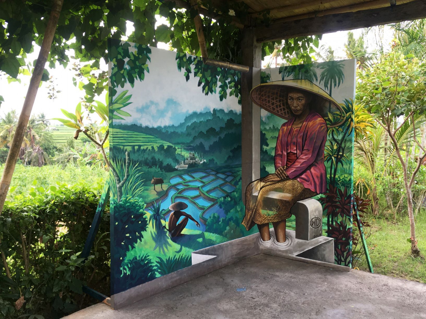 Globe-trotting muralist captures public imagination, one wall at a time