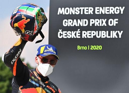 South African rookie Binder wins Czech MotoGP on 'insane' bike