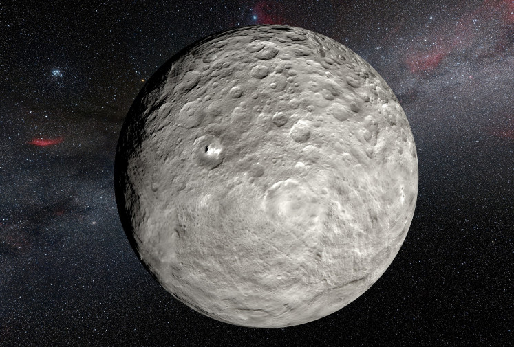 Dwarf planet Ceres is an ocean world: Study