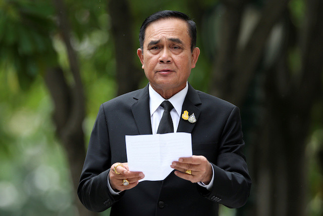 Thai PM says protesters 'went too far' by demanding monarchy reform
