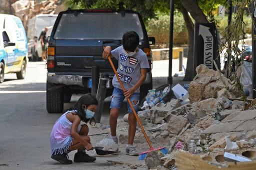 'I don't want to die': Blast traumatizes Beirut children