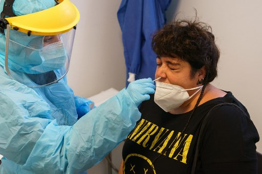 Spain again grapples with Europe's worst virus infection rate