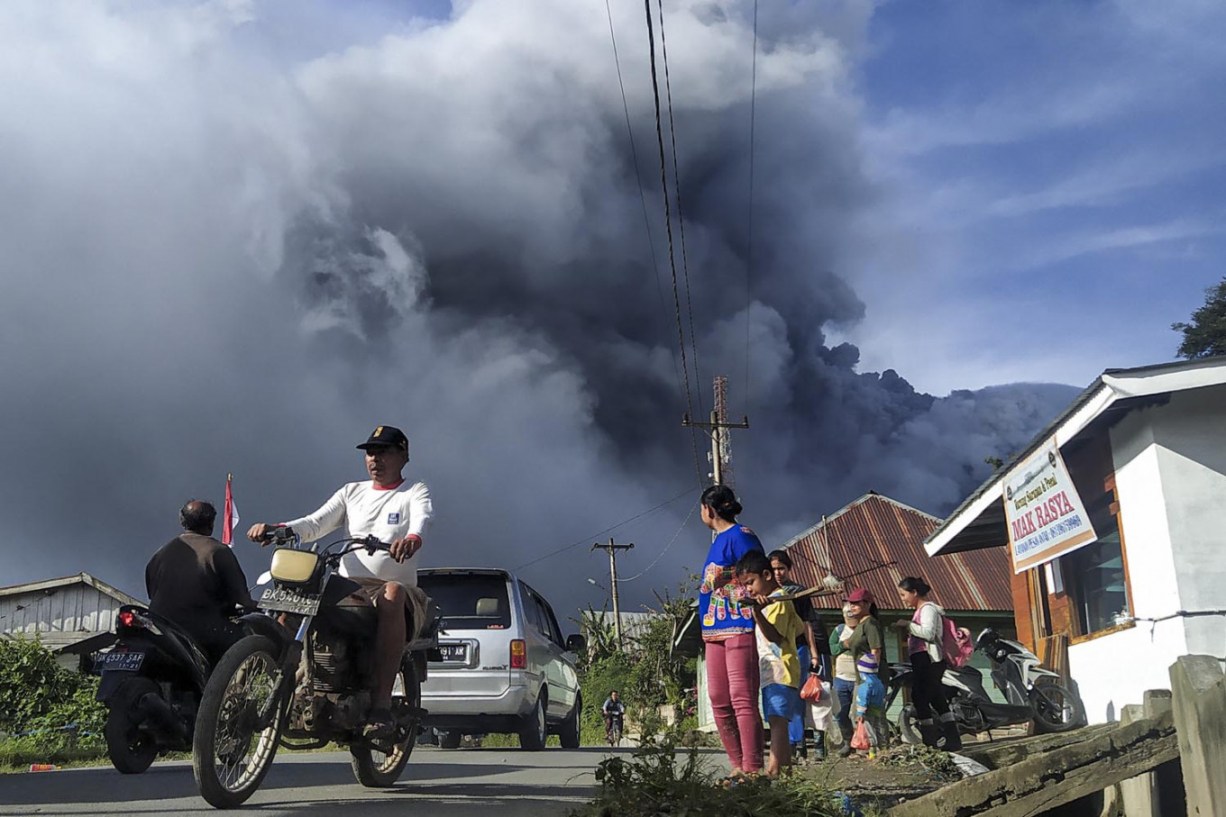 Karo farmers suffer Rp 41.8 billion in losses due to Mt. Sinabung eruption
