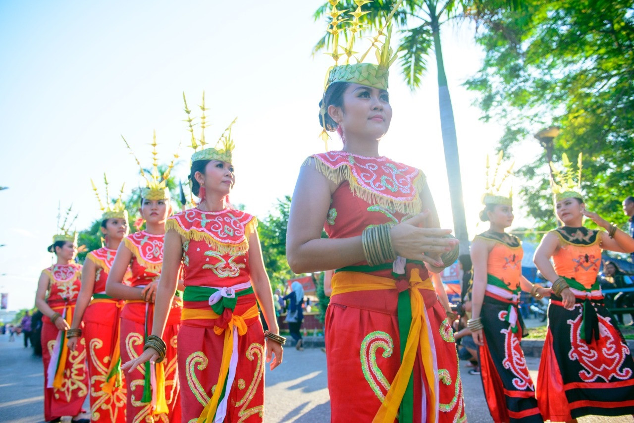 Virtual Mini Dayak Festival showcases performing arts