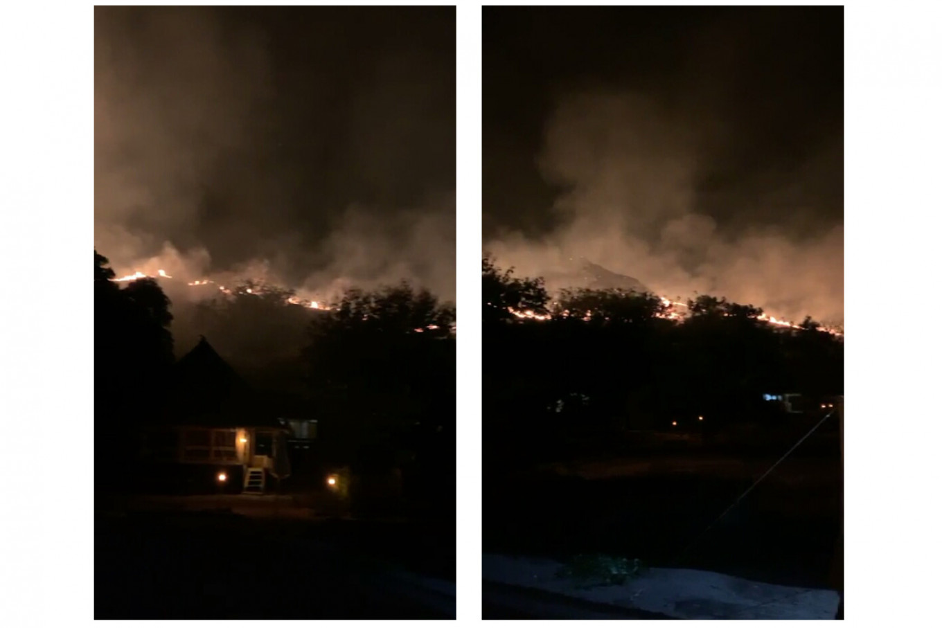 Labuan Bajo wildfire traps dozens of tourists for 5 hours at local dive resort