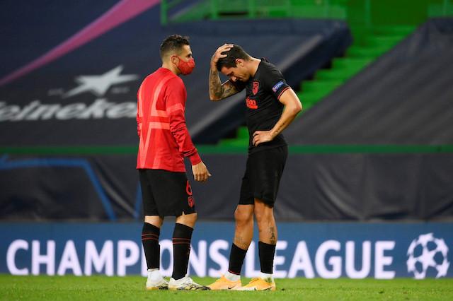 Leipzig stun Atletico to reach Champions League last four