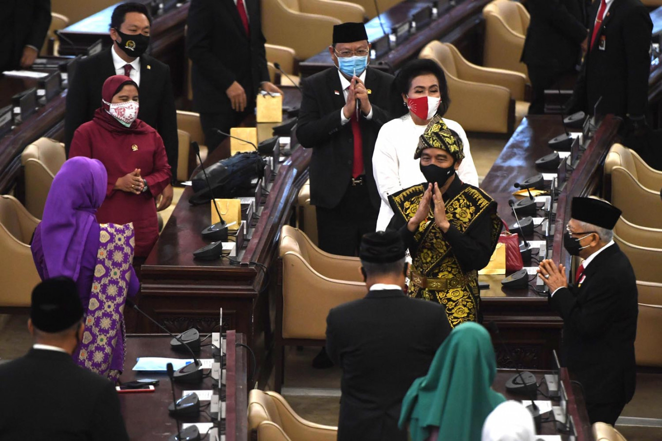 Jokowi reaffirms Indonesia's 'massive downstreaming' of natural resources