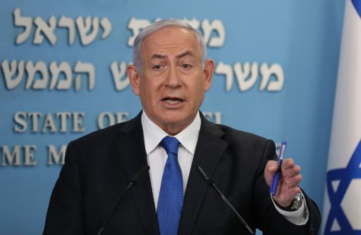 Netanyahu blames Iran for ship attack, says 'striking' back