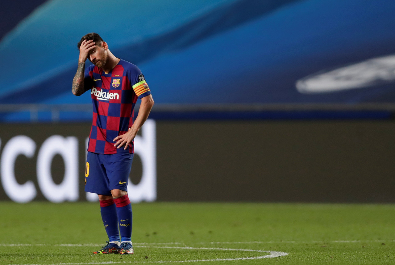 Messi Fails To Show Up For Barca Training Sports The Jakarta Post