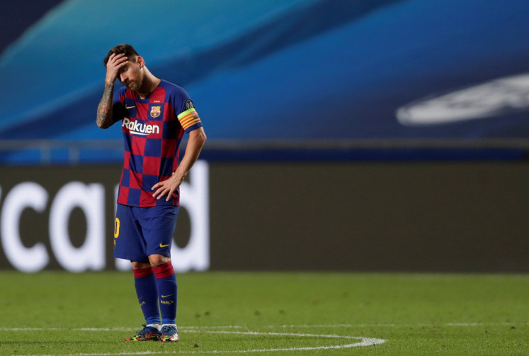 'Hard to comprehend': Brutal Bayern hits eight past Barcelona
