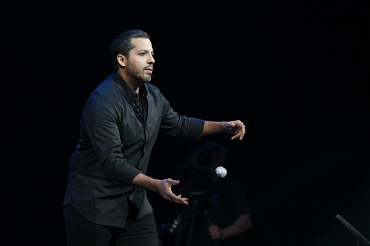 David Blaine to attempt first live stunt in almost a decade on YouTube