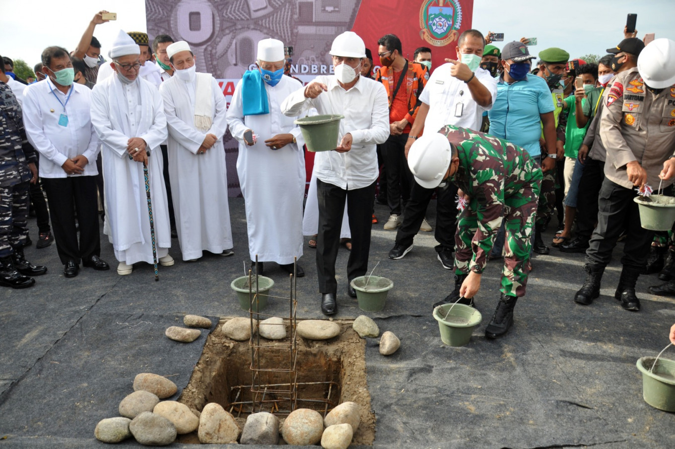 North Sumatra kicks off construction of Rp 8.6t sports center for 2024 PON