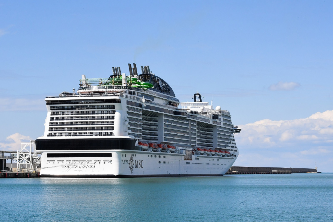 MSC Grandiosa departure sees cruise sector return in Europe