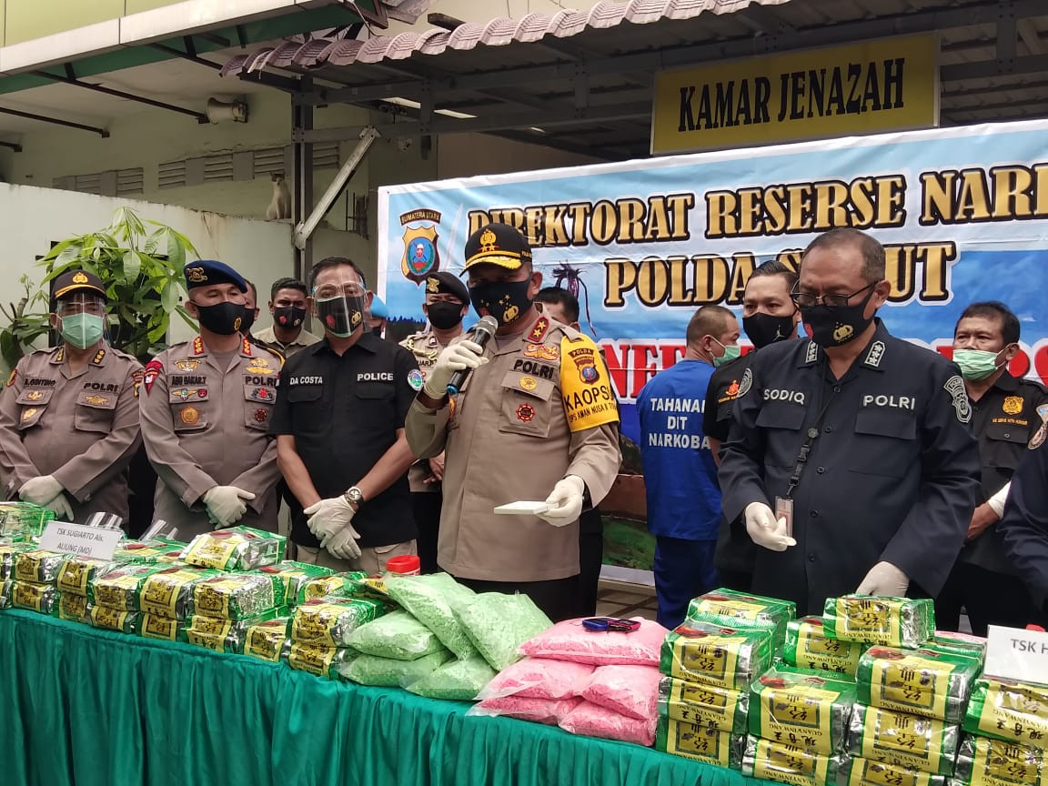 Suspected drug dealer shot dead by North Sumatra Police following physical assault