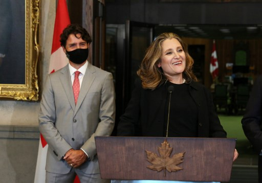 Trudeau names Canada's first female finance minister