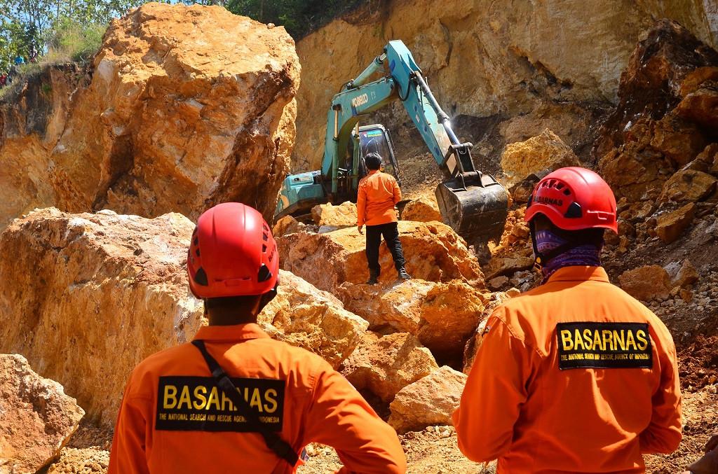 Three killed in landslide at illegal mine in Central Java