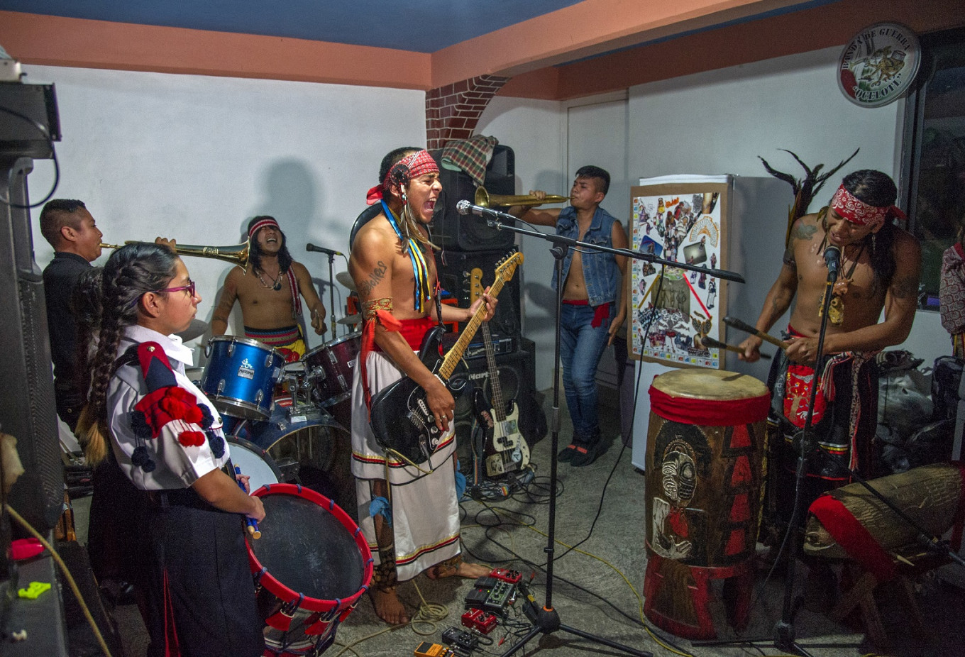Mexican rockers blend punk with indigenous soul