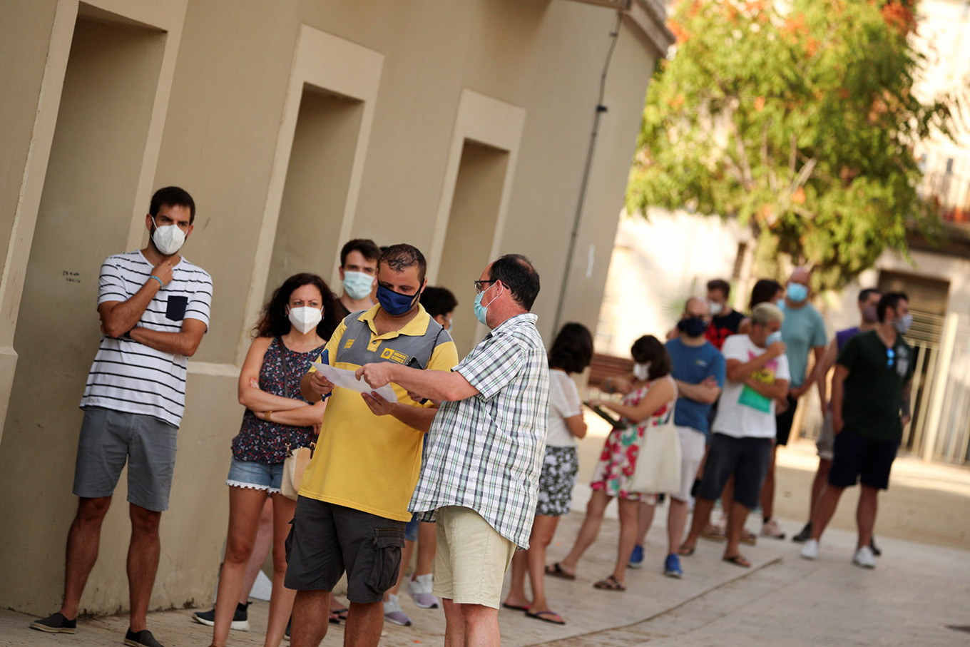 Gripped by virus resurgence, Spain reports 3,594 new cases