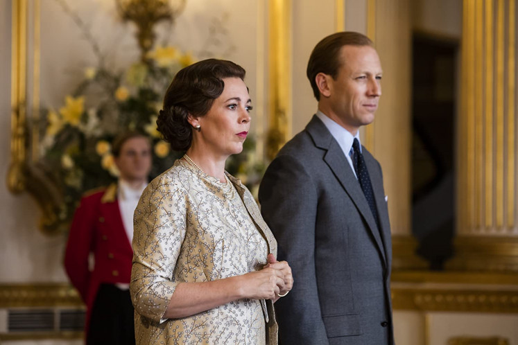 A still from 'The Crown.'