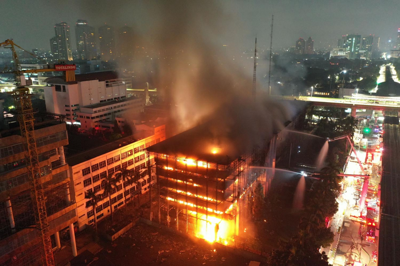 AGO proposes Rp 400 billion budget to renovate burned building
