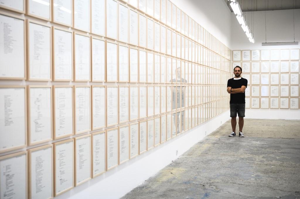 Eerie Belgrade exhibit turns Ratko Mladic diary into art
