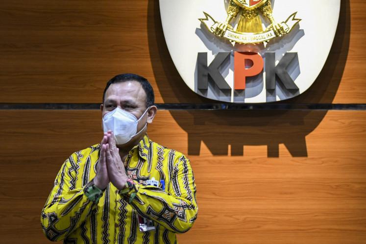 KPK nabs Cimahi Mayor, hospital director over permit bribe