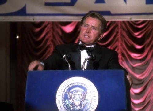 TV's 'West Wing' swaps fictional politics for the real thing