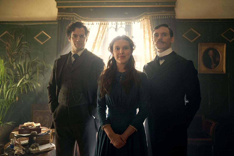 Millie Bobby Brown is Sherlock Holmes' sister