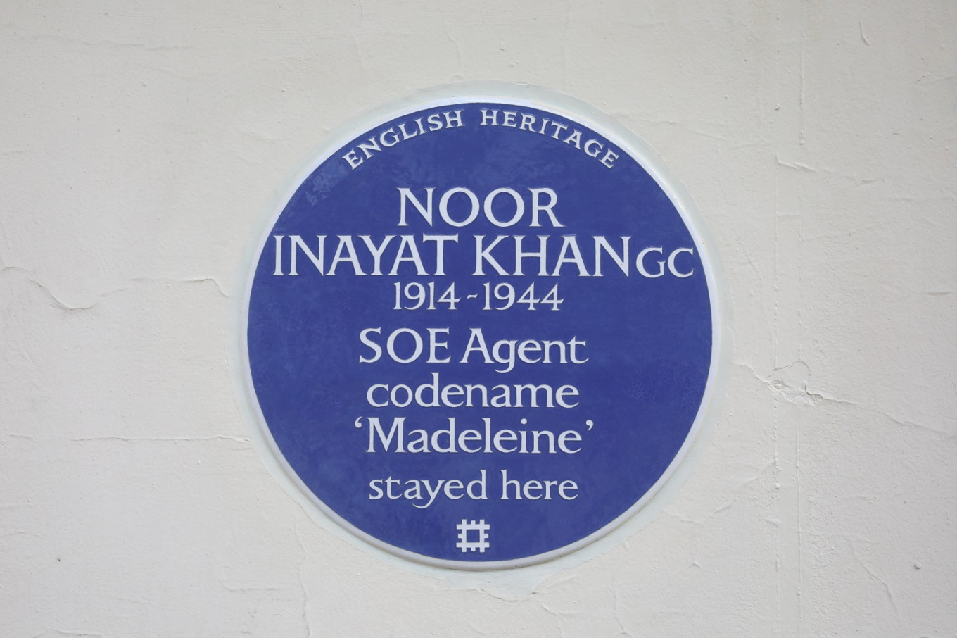 London Blue Plaque honor for Indian 'spy princess'