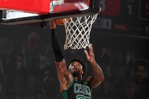 Celtics rout Raptors in NBA series opener, Clippers advance