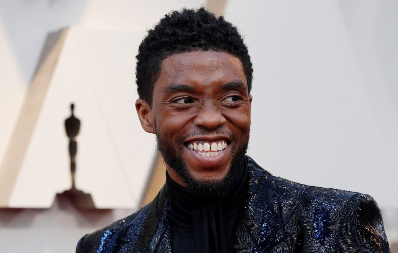 Chadwick Boseman posthumously wins Golden Globe for best drama actor