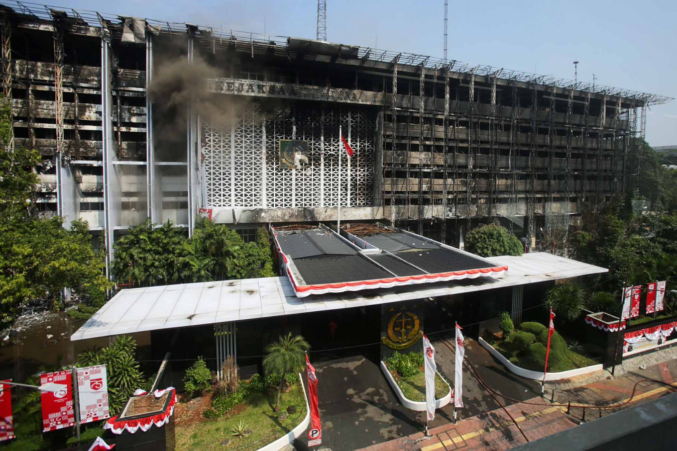 Custodian of funds?: Police investigate janitor's bank account in AGO fire case