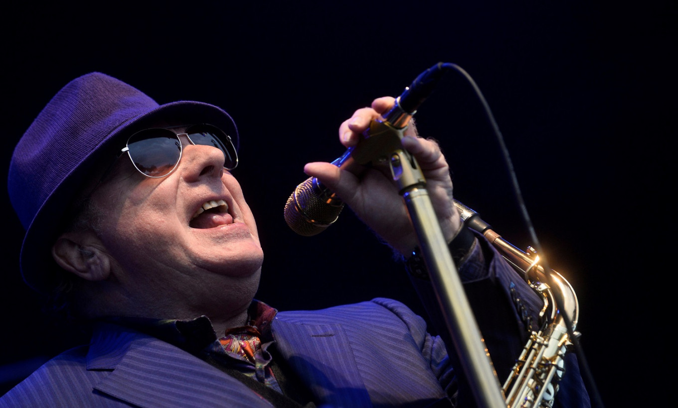 'Rave on': Irish president helps celebrate Van Morrison's 75th birthday