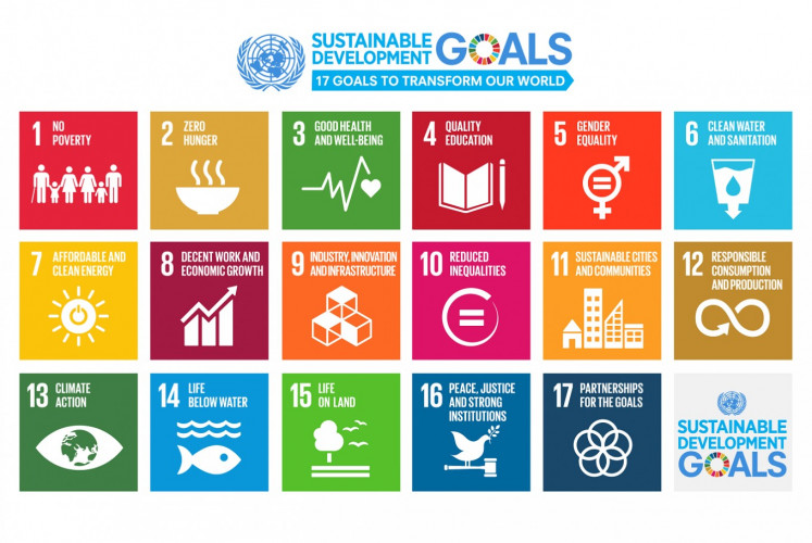 "Call to action: The Sustainable Development Goals consist of a set of 17 goals designed to bring the world to several life-changing ""zeros"", including to take urgent action to combat climate change and achieve gender equality and empower all women and girls."