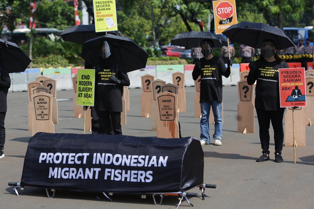 Corporate responsibility needed to prevent trafficking of fishers